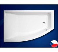 Ванна акриловая асимметричная 160*105 VERONELLA OFFSET левая Vagnerplast