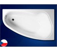 Ванна акриловая асимметрия правая 150*90 AVONA Vagnerplast