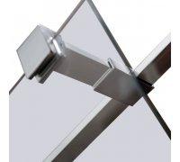 Держатель стекла (E) с креплениями длиной 10см VOLLE 18-05E-10