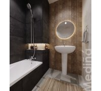 Комплект для ванної кімнати Volle MEDINA 070074-ванна, компакт, умивальник, змішувач, душ гарнітур